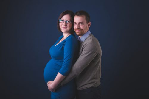těhotenské focení - Rodinný fotoateliér v Kolíně