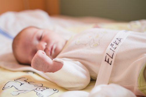 focení miminek v porodnici - Rodinný fotoateliér v Kolíně