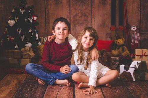 vánoční focení - Rodinný fotoateliér Kolín