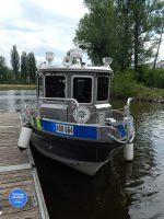 Den záchranářů Kolín 2018 - policejní loď
