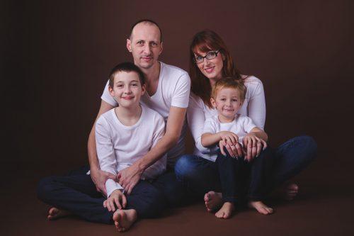 focení s profesionální vizážistkou - Rodinný fotoateliér v Kolíně
