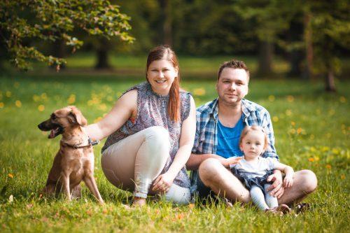 venkovní focení - Rodinný fotoateliér v Kolíně