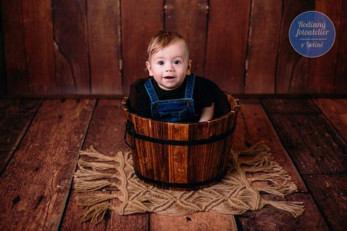 focení dětí v rodinném fotoateliéru v Kolíně